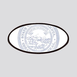 Blue South Dakota State Seal Patches