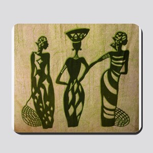 3 Sistas Green Mousepad