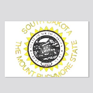 North Dakota State Slogan Postcards - CafePress