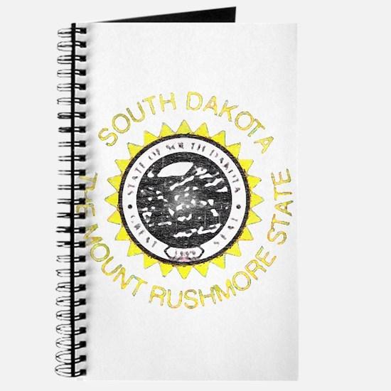 South Dakota Vintage State Flag Journal