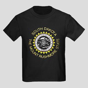 South Dakota Vintage State Flag T-Shirt