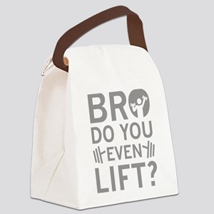 Bro Do You Even Lift? Canvas Lunch Bag
