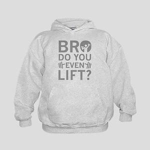 Bro Do You Even Lift? Kids Hoodie