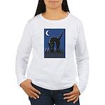 Black Cat Women's Long Sleeve T-Shirt