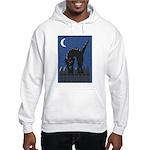 Black Cat Hooded Sweatshirt