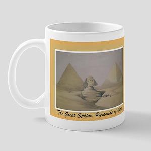 Pyramid of Giza Mug