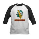 Schrodinger's Cat Kids Baseball Jersey