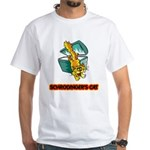 Schrodinger's Cat White T-Shirt