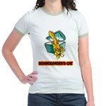 Schrodinger's Cat Jr. Ringer T-Shirt