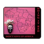 Going AFRICA Red Mousepad