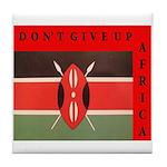 Going KENYA Red Tile Coaster
