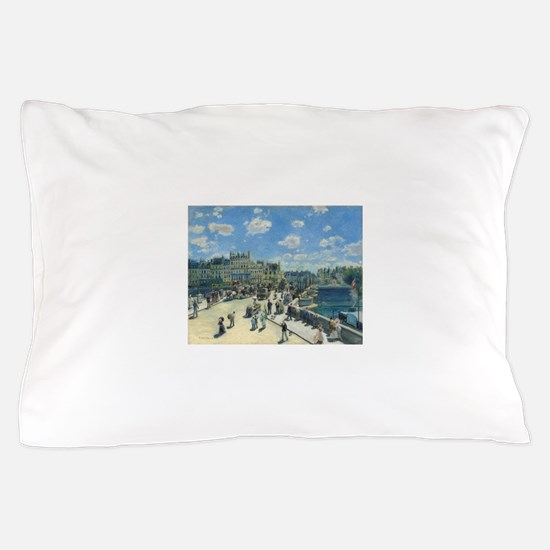 Auguste Renoir - Pont Neuf Paris Pillow Case