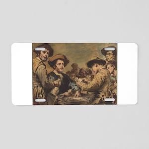 Augustin Theodule Ribot - Card Players Aluminum Li