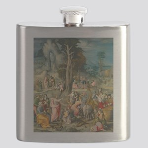 Bacchiacca - The Gathering of Manna Flask
