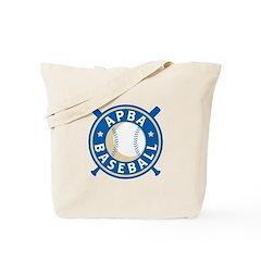New APBA Baseball Logo Tote Bag