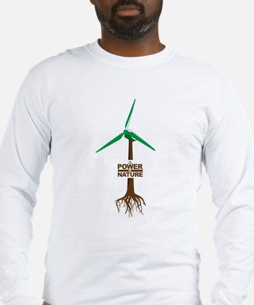 The Power Of Nature Long Sleeve T-Shirt