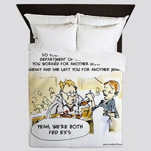 Fed Ex Wife Queen Duvet