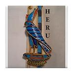 Horus/Heru Tile Coaster