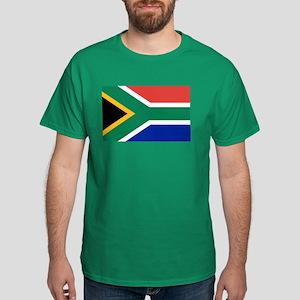 Flag South Africa Dark T-Shirt