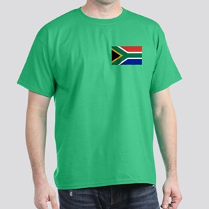 Flag South Africa Dark T-Shirt
