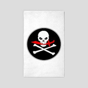 Jolly Roger (Cutlass) 3'x5' Area Rug