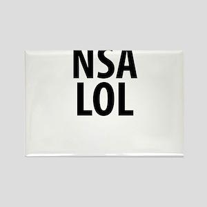 NSA LOL Rectangle Magnet