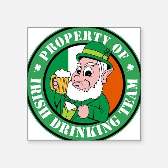 Property of the Irish Drinkin Sticker