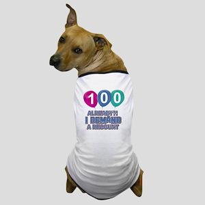 100 year old ballon designs Dog T-Shirt