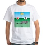 Pill Bug and Armadillo White T-Shirt