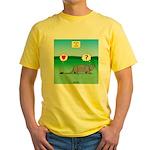 Pill Bug and Armadillo Yellow T-Shirt
