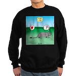 Pill Bug and Armadillo Sweatshirt (dark)