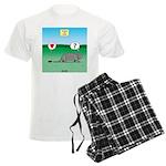 Pill Bug and Armadillo Men's Light Pajamas