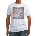 Water Nutritional Value Fitted T-Shirt