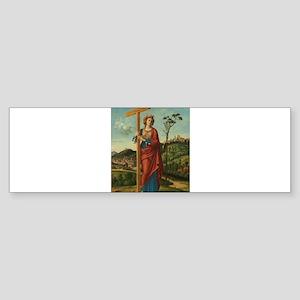 Cima da Conegliano - Saint Helena Bumper Sticker