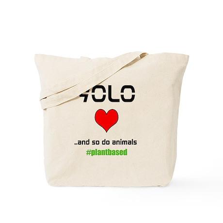 YOLO Animals Tote Bag