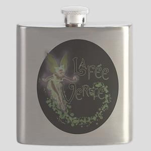 Dark Absinthe Fairy Flask