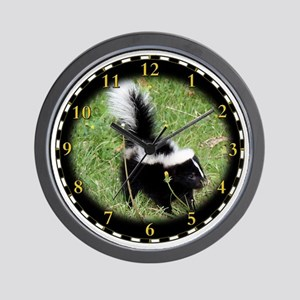 skunk_clock Wall Clock