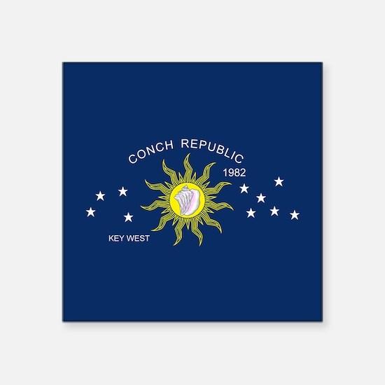 Conch Republic Flag Sticker