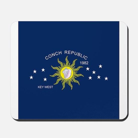 Conch Republic Flag Mousepad