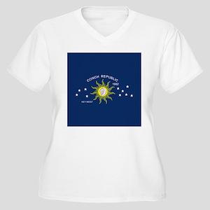 Conch Republic Flag Plus Size T-Shirt