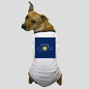 Conch Republic Flag Dog T-Shirt