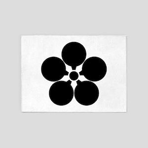 Bungo umebachi 5'x7'Area Rug