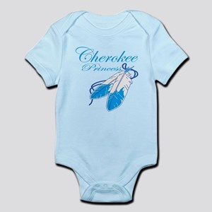 Turquoise Cherokee Princess Infant Bodysuit