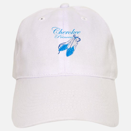 Turquoise Cherokee Princess Baseball Baseball Cap