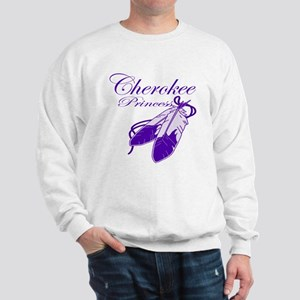 Purple Cherokee Princess Sweatshirt