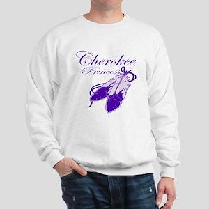 Purple Cherokee Princess Sweatshirt
