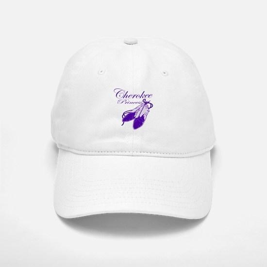 Purple Cherokee Princess Baseball Baseball Cap