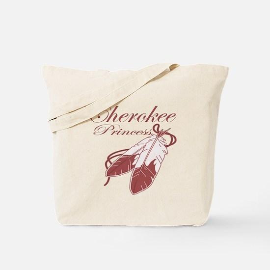 Pink Cherokee Princess Tote Bag