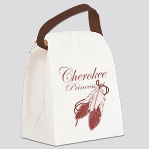 Pink Cherokee Princess Canvas Lunch Bag