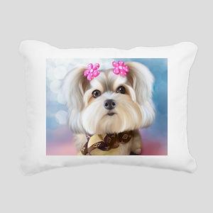 Morkey Joy Rectangular Canvas Pillow